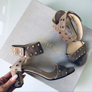 Jimmy Choo studded sandals size 36 / 6